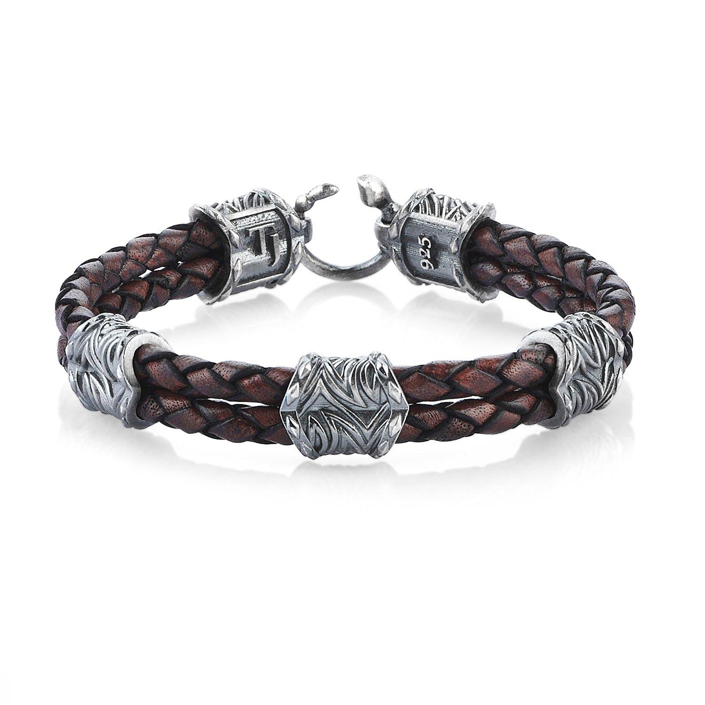 Oxidised Silver Vintage Look Serpi Style Bracelet