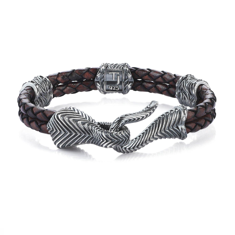 Oxidised Silver Vintage Look Serpi Bracelet